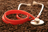 coffee and stethoscope