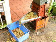 the pulping machine